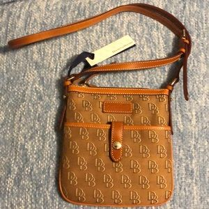 Dooney and Bourke Letter Carrier Crossbody Bag NWT